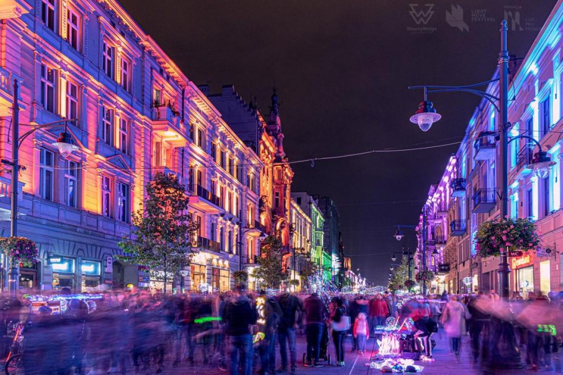 Light Move Festival 2021 powraca do otwartej przestrzeni miejskiej