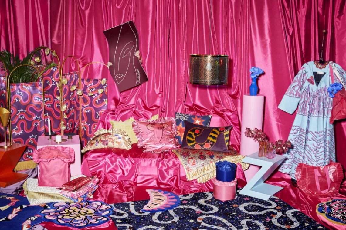 Śmiała kolekcja od IKEA i Zandry Rhodes