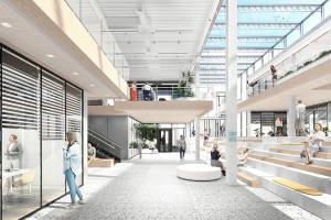 Tak mógłby wyglądać kampus Państwowej Wyższej Szkoły Informatyki i Przedsiębiorczości w Łomży