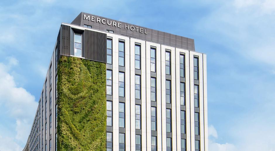 Niebawem otwarcie Mercure Katowice Centrum. Na fasadzie... ogród wertykalny