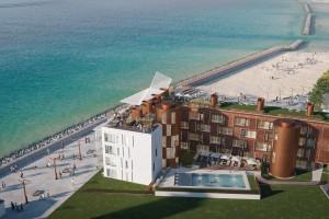 Projekt APA Wojciechowski z pozwoleniem na budowę. Primo Baltic powstanie tuż przy plaży w Darłówku