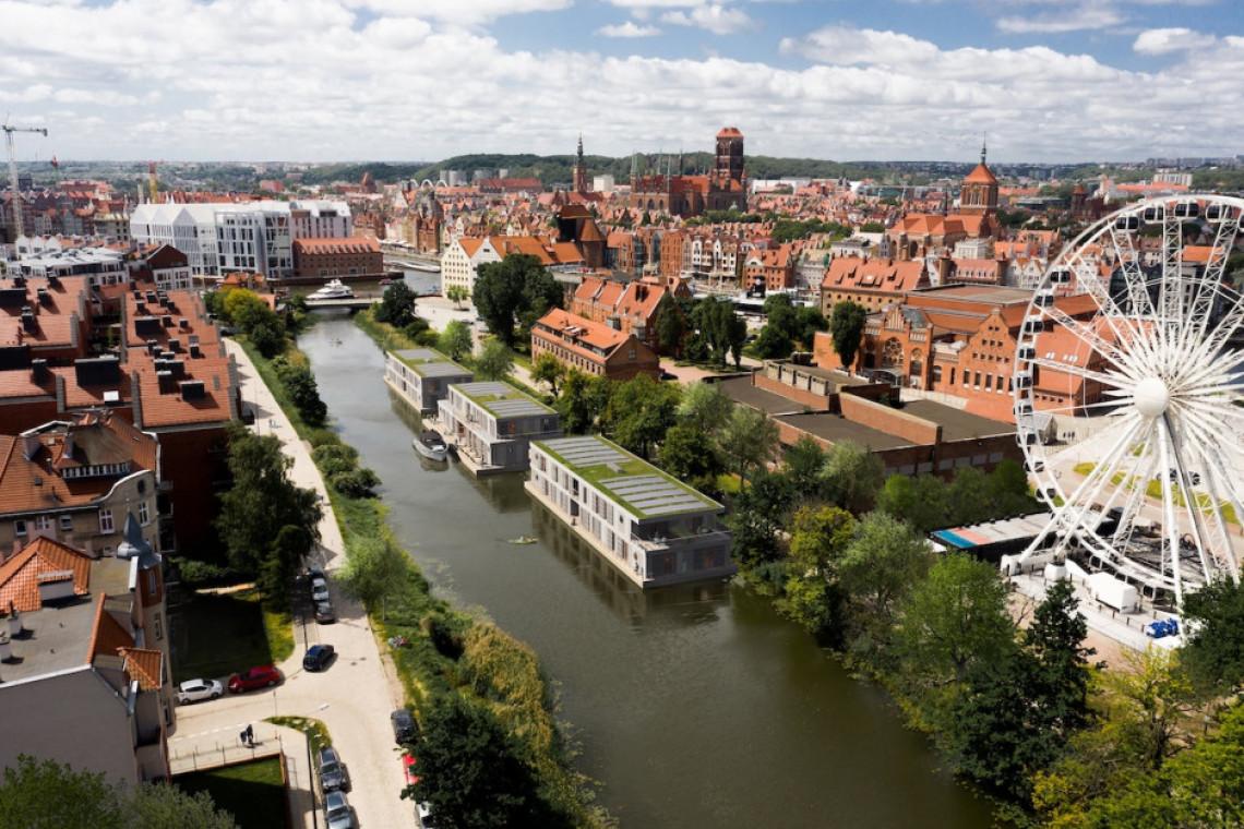 W Gdańsku powstanie pierwszy w Polsce hotel na wodzie. To projekt Art Architekci
