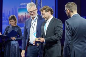 Wieżowiec Skyliner projektu APA Wojciechowski ze statuetką Prime Property Prize 2021