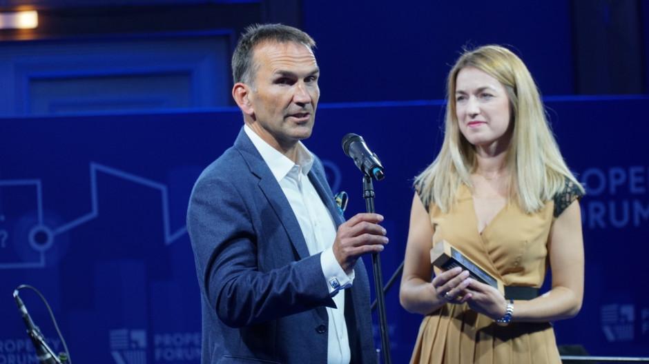 Marcin Klammer, prezes firmy HB Reavis Polska, która wybudowała Varso Place