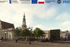 Przebudowa Starego Rynku w Poznaniu. Tak będzie wyglądał po zmianach