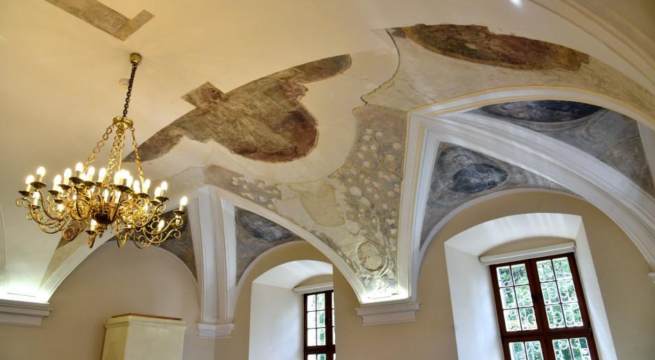 Barokowe freski w urzędzie miasta w Poznaniu odzyskają dawny blask