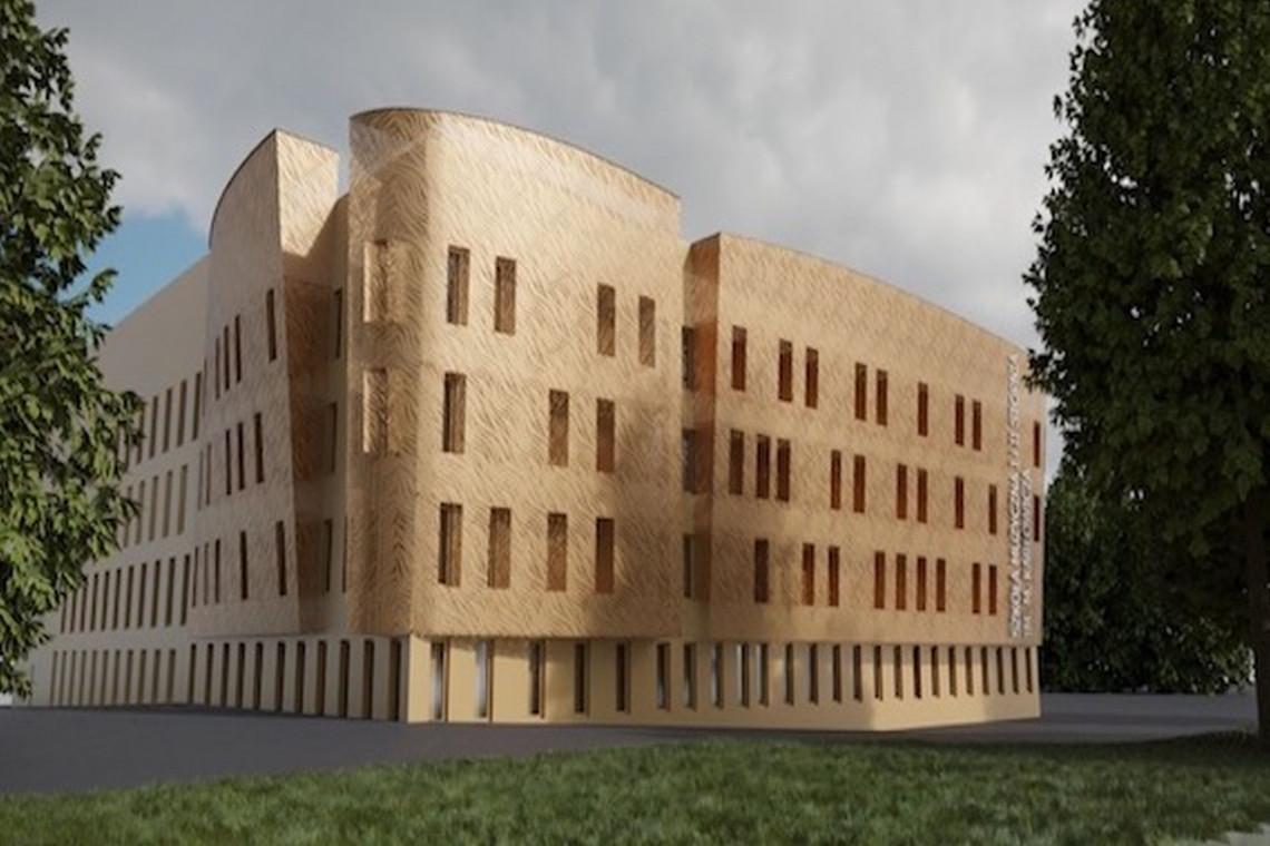 Coraz bliżej do zakończenia budowy szkoły muzycznej w Zielonej Górze
