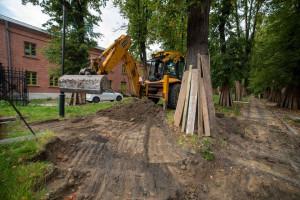 Remonty w Łodzi. Rozpoczęły się prace przy osiedlu Księży Młyn