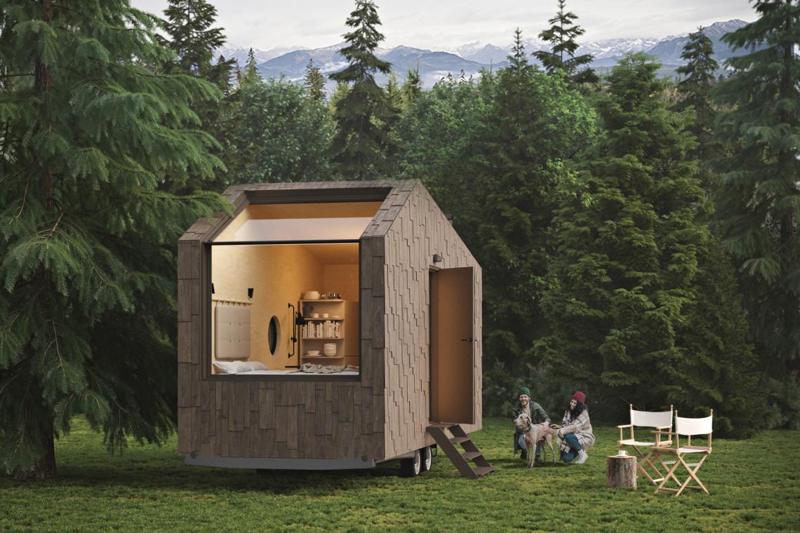 W otoczeniu natury. Nowy pomysł na mobilne minihotele w Polsce