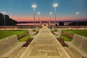 Kompleks nad jeziorem Dąbie w Szczecinie. Tak go przebudowano!