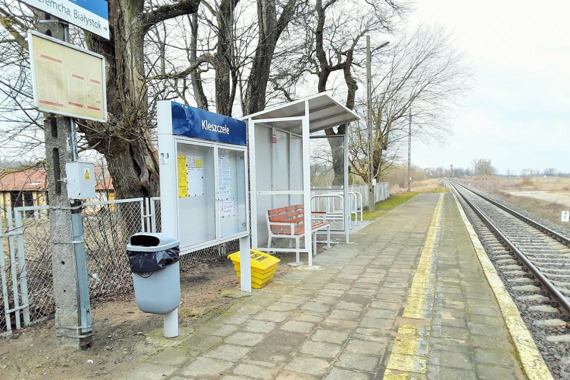 W Podlaskiem trwają prace nad budową kolejnych przystanków kolejowych