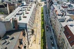 Remonty w Poznaniu. Kończy się przebudowa ulicy Wierzbięcice