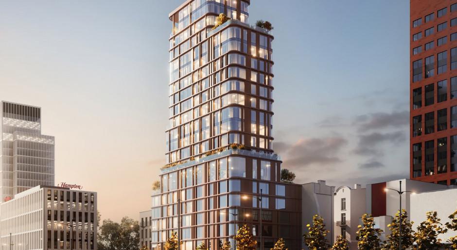 Wieża na Piotrkowskiej w Łodzi? Design Lab Group prezentuje projekt