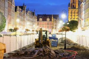 Reprezentacyjna ulica historycznej części Gdańska przechodzi remont