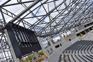 Ekrany LED na Stadionie Miejskim w Szczecinie