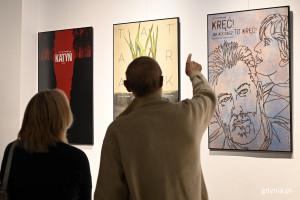Nowa wystawa w Gdyni. Zobacz plakaty Andrzeja Pągowskiego do filmów Andrzeja Wajdy