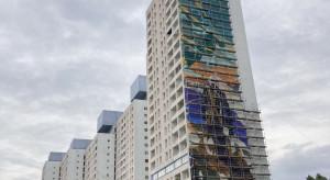 Największy mural w Polsce i to z wizerunkiem Wiedźmina. Na jakim etapie są prace?