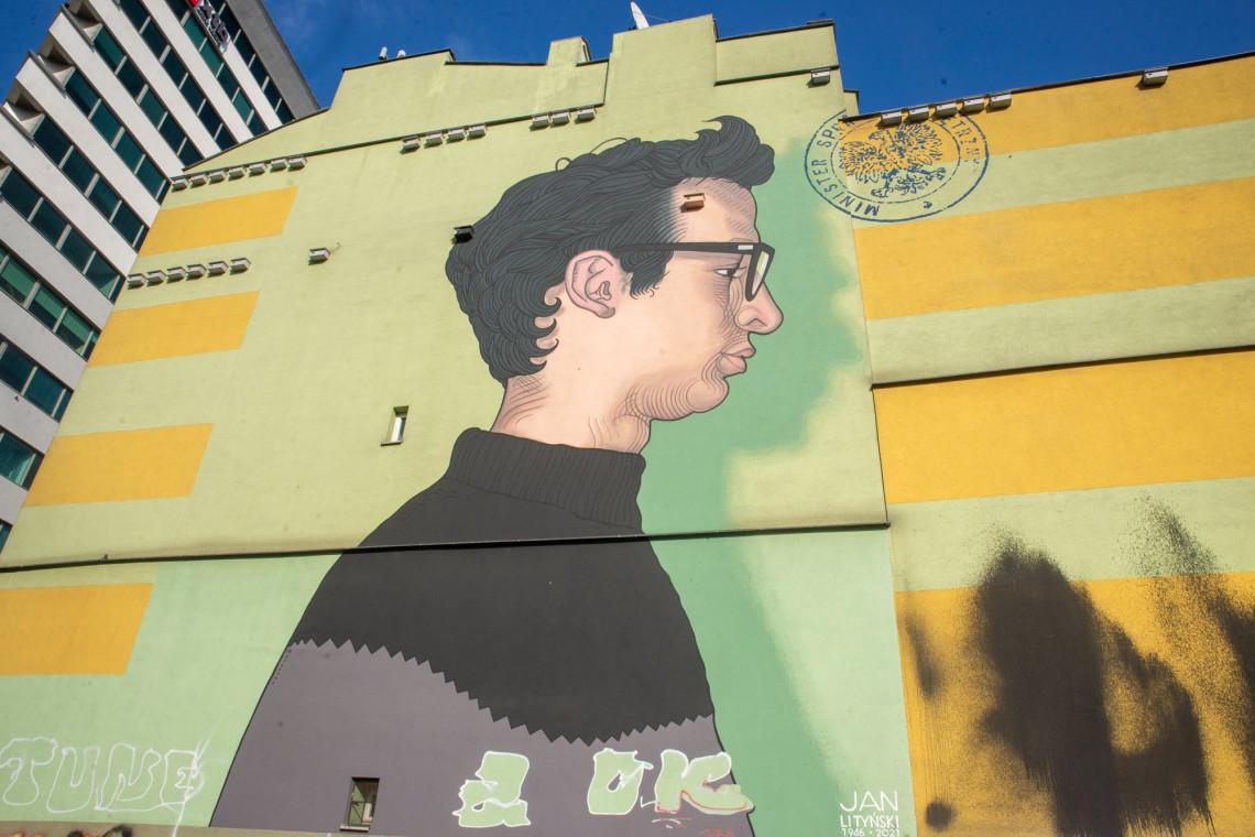 Nowy mural Bruno Neuhamera na warszawskiej Woli