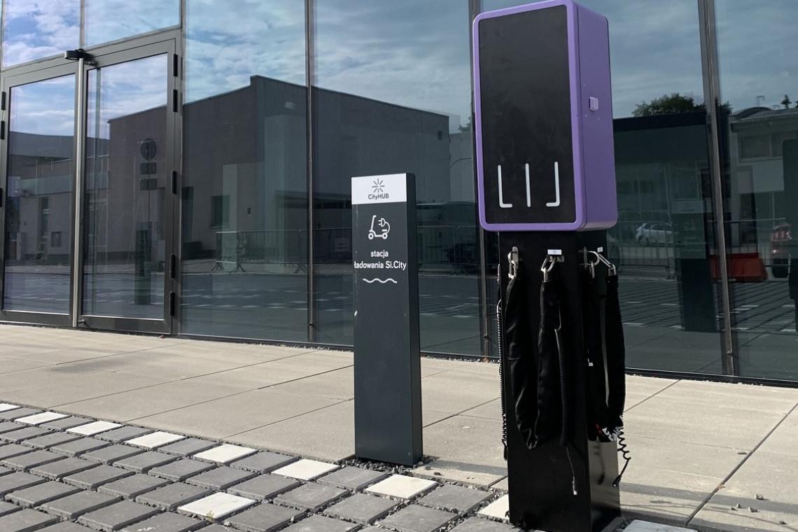 Gdański biurowiec Wave stawia na elektromobilność