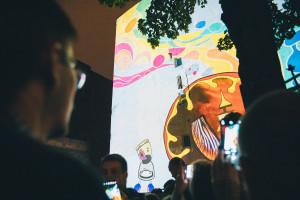 Gigantyczne ruchome malowidła na kamienicach Wrocławia. Tak było podczas 3. edycji Kinomuralu