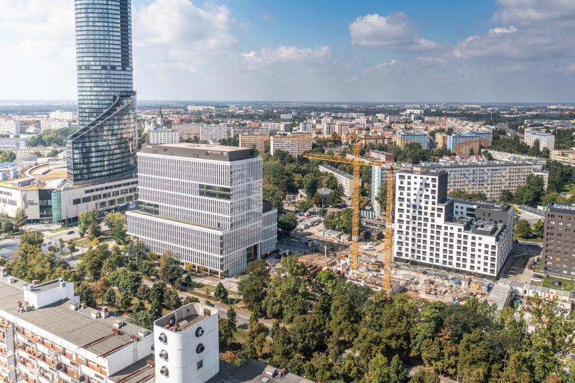 Zaglądamy na budowę biurowca Centrum Południe we Wrocławiu