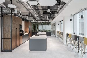 Tétris z nowym projektem biurowym w Metropoint Office. Jest egzotycznie!