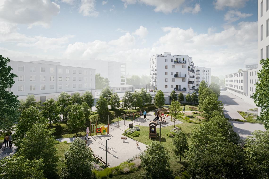 Kuryłowicz & Associates z projektem w duchu postindustrialnego modernizmu