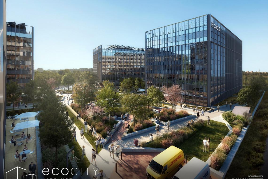 W Katowicach powstaje kompleks energooszczędnych biurowców