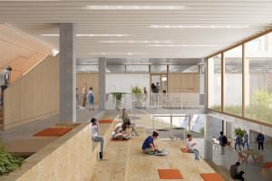 Tak mogłaby wyglądać Szkoła Cynamonowa we Wrocławiu. Zobacz minimalistyczny projekt!