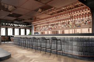Hi Piotrkowska z restauracją i klubem z 200-metrowym tarasem widokowym. Projekt robi wrażenie!