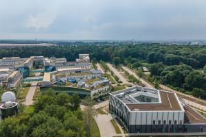 Tak wygląda Biblioteka Uniwersytecka w Białymstoku. Bryła robi wrażenie!
