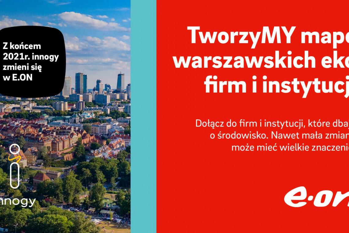 Powstaje mapa warszawskich ekoinwestycji