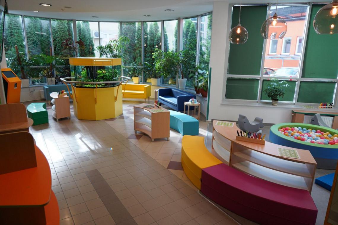 Centrum Onkologii w Lublinie z kolorową Strefą Rodzica