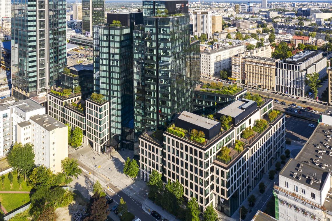 Varso Place wyróżniony za dostępność architektoniczną