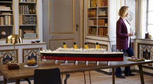 Oto najdłuższy model stworzony z klocków LEGO