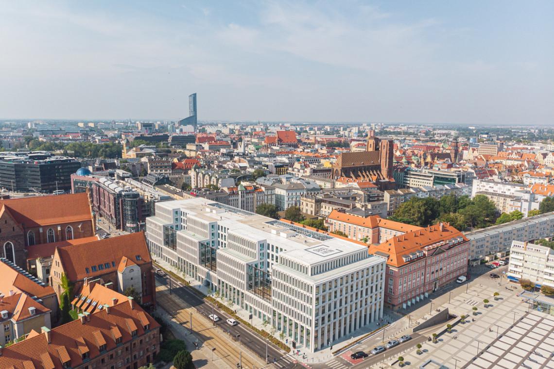 Wrocławskie biurowce Skanska z nagrodami za dostępność i ekologię