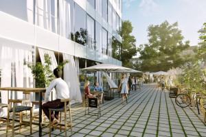 Centrum biurowe w Krakowie przejdzie metamorfozę. W planach zielona przestrzeń do rekreacji