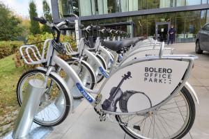 Warszawski kompleks biurowy z udogodnieniami dla rowerzystów