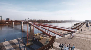 Wiemy, kto wybuduje most pieszo-rowerowy na Pragę