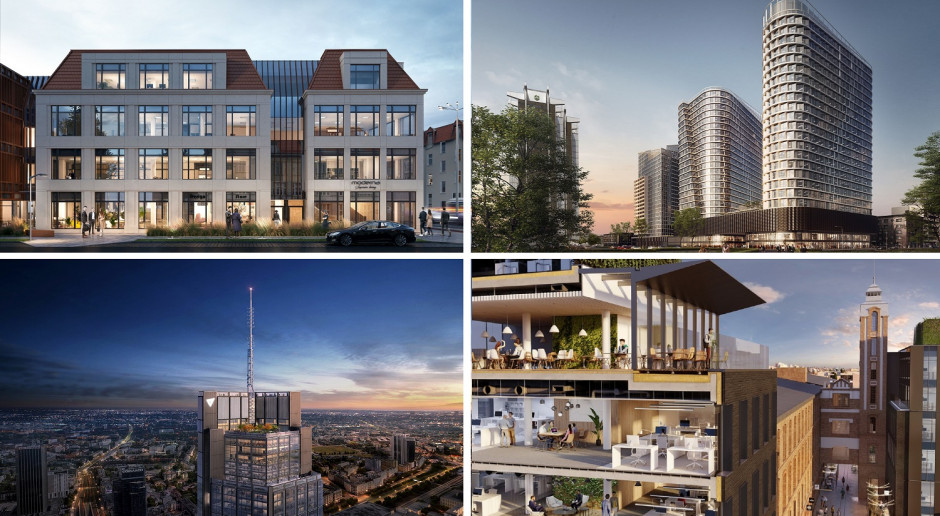 TOP 20: Biurowce w budowie. Te bryły odmienią krajobraz polskich miast