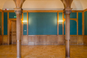 Tak odnowiono Salę Arkadową łódzkiego Pałacu Poznańskiego
