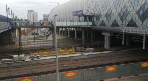 Przebudowa stacji Poznań Główny. Zaglądamy na plac budowy