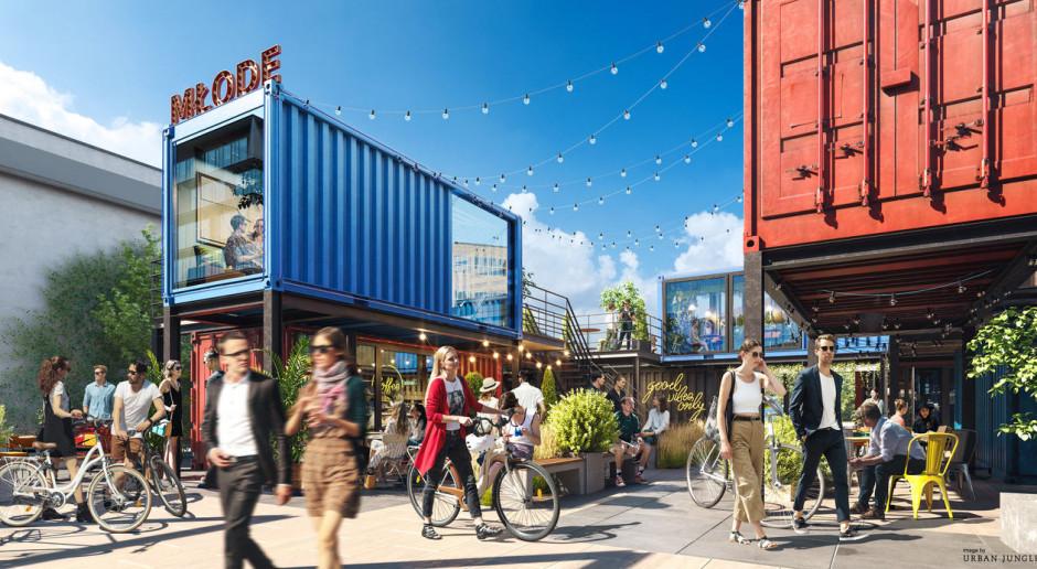 Tak się zmieni Młode Miasto w Gdańsku. Jest projekt przestrzeni wokół budynków Palio Office Park