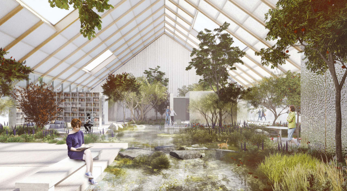 Hospicjum niczym ogród. Niezwykła koncepcja od Gierbienis + Poklewski