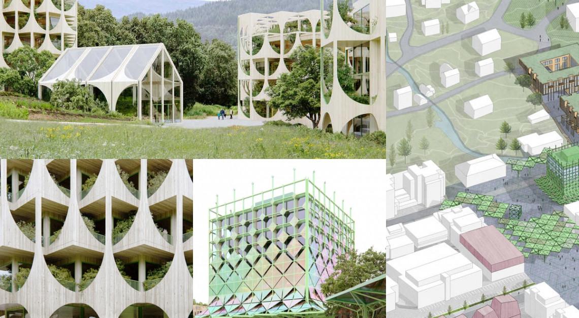 Tętniące życiem, cyrkularne miasto w Norwegii: ta koncepcja zdobyła międzynarodową nagrodę