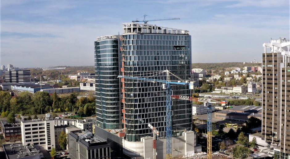 Zaglądamy na plac budowy Global Office Park w Katowicach